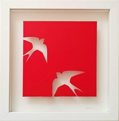 ORIGINAL - Swallows (RED)