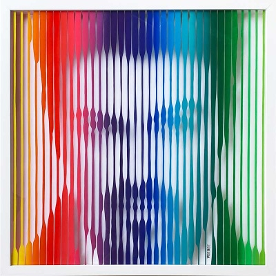 George Michael (Rainbow) Painting on Glass