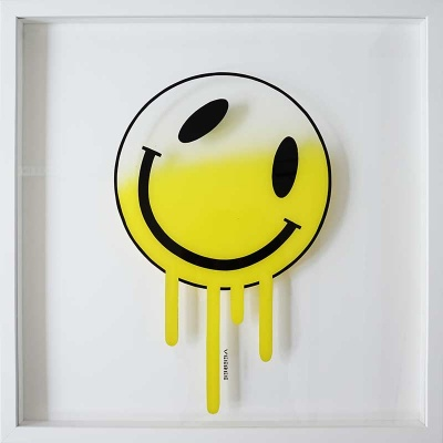 Melting Smiley (YELLOW)
