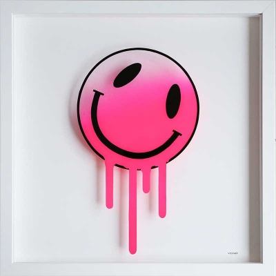 Melting Smiley (PINK)